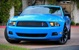 Grabber Blue 11 Mustang Club Of America V6 Coupe