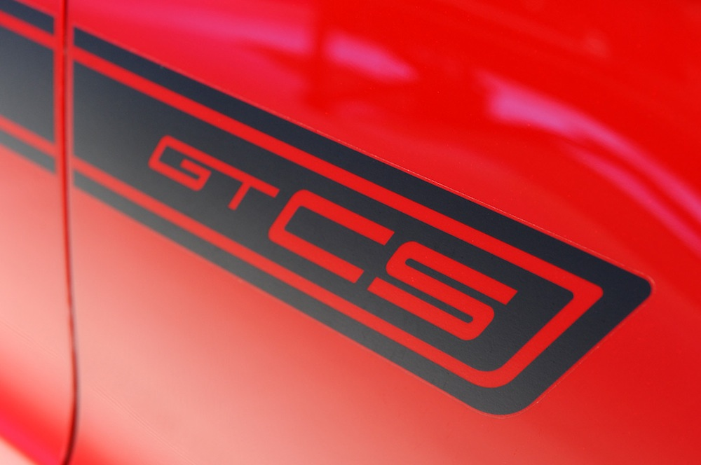GTCS side stripe