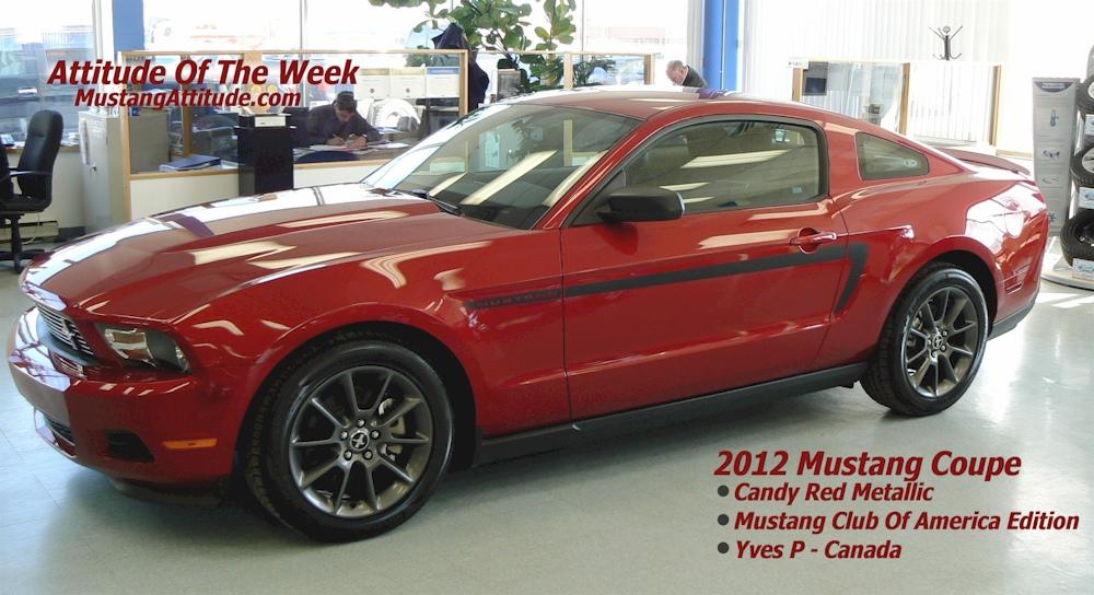 Mustang Club Of America >> 2012 Mustang Club Of America Edition