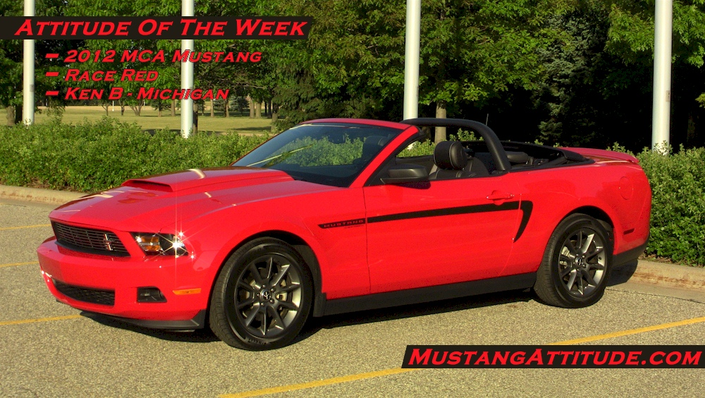 Race Red 2012 MCA Mustang Convertible