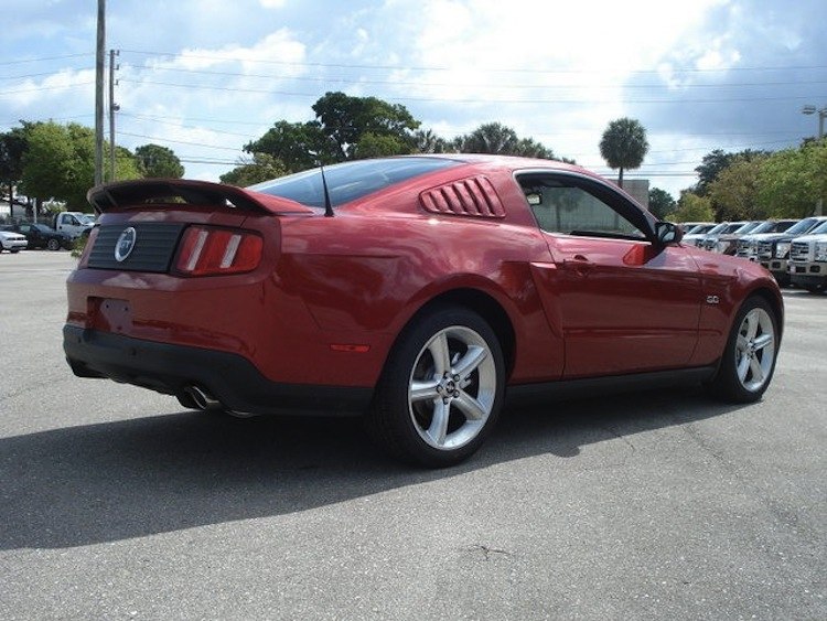 Red Candy 2012 Ford Mustang Gt Coupe Mustangattitude Com