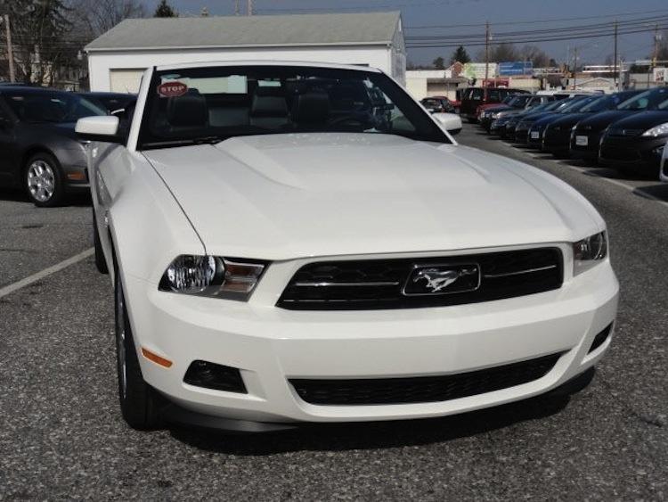 performance white 2012 mustang v6 convertible - Mustang 2012 White