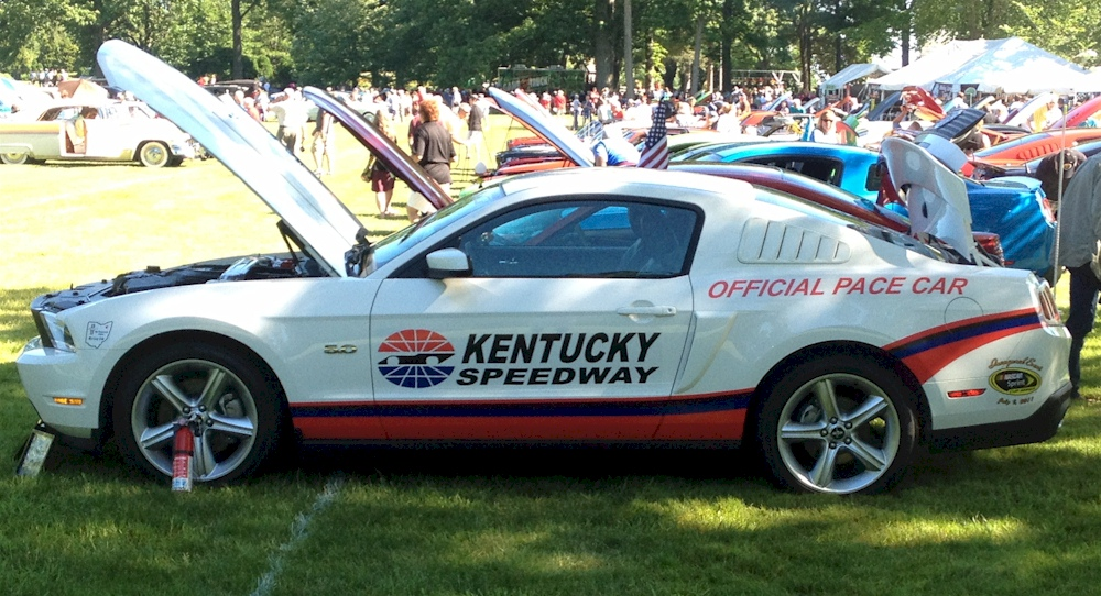 Performance White 2012 Mutang GT Kentucky Speeway Pace Car