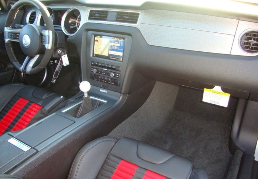 2012 Shelby GT-500 Interior