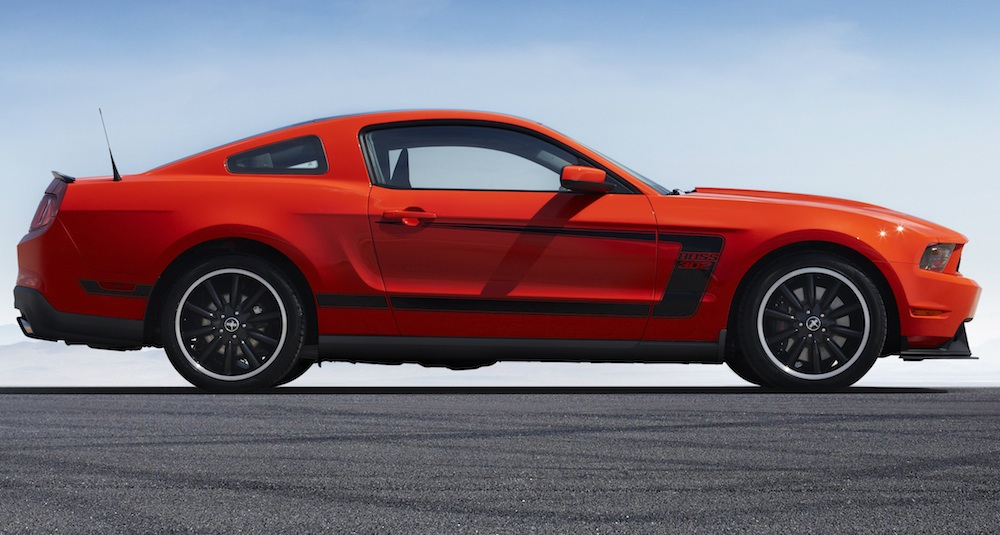 Competition Orange 2012 Mustang Boss 302 Coupe