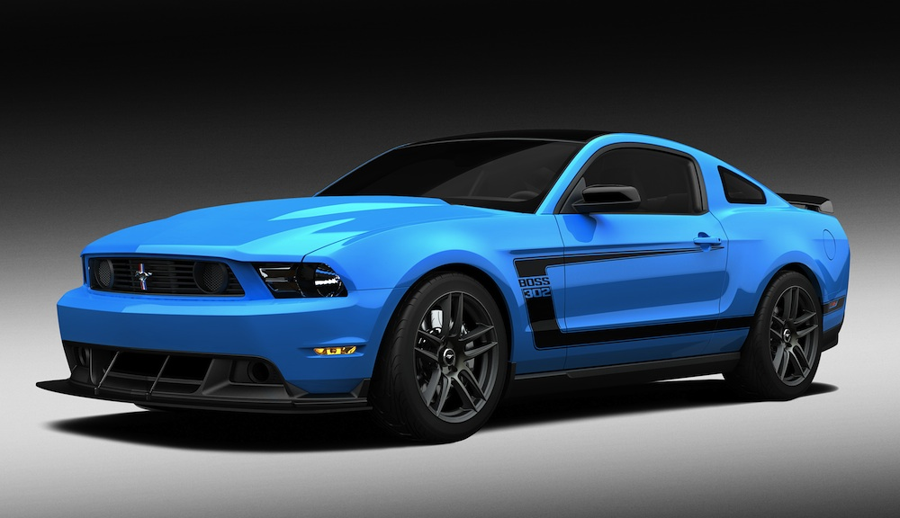 2012 Mustang Paint Colors