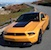 Yellow Blaze 2012 Mustang Boss 302 Glass Roof Coupe