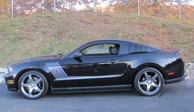 Black 2012 Mustang Roush Hyper Series