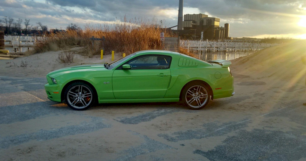 Mustang Roush For Sale >> Gotta Have It Green 2013 Ford Mustang GT Coupe ...
