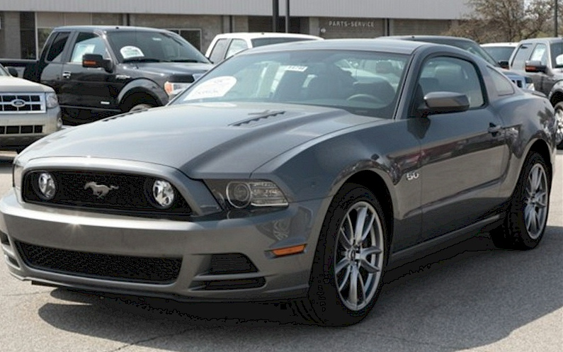 Sterling Gray 2013 Ford Mustang