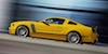 School Bus Yellow 2013 Mustang Boss 302 Coupe