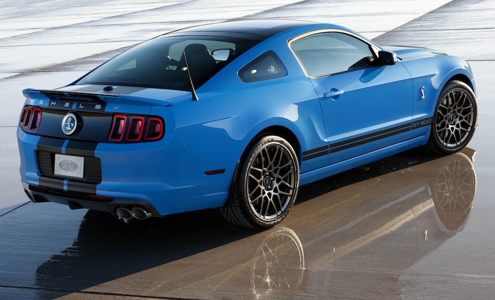 Grabber Blue 2013 Mustang Shelby GT500 Coupe