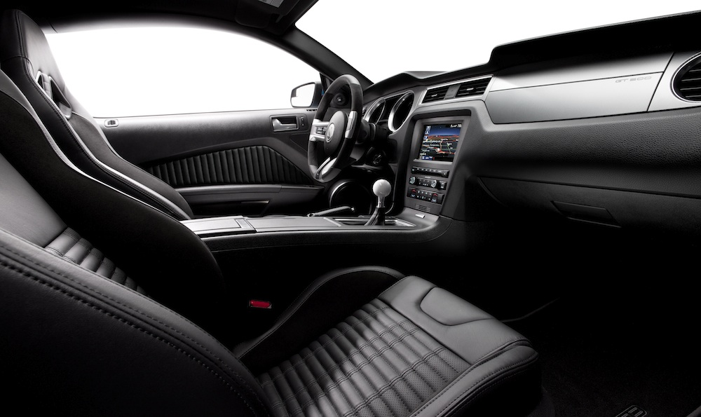 Interior 2013 Mustang Shelby GT500 Coupe