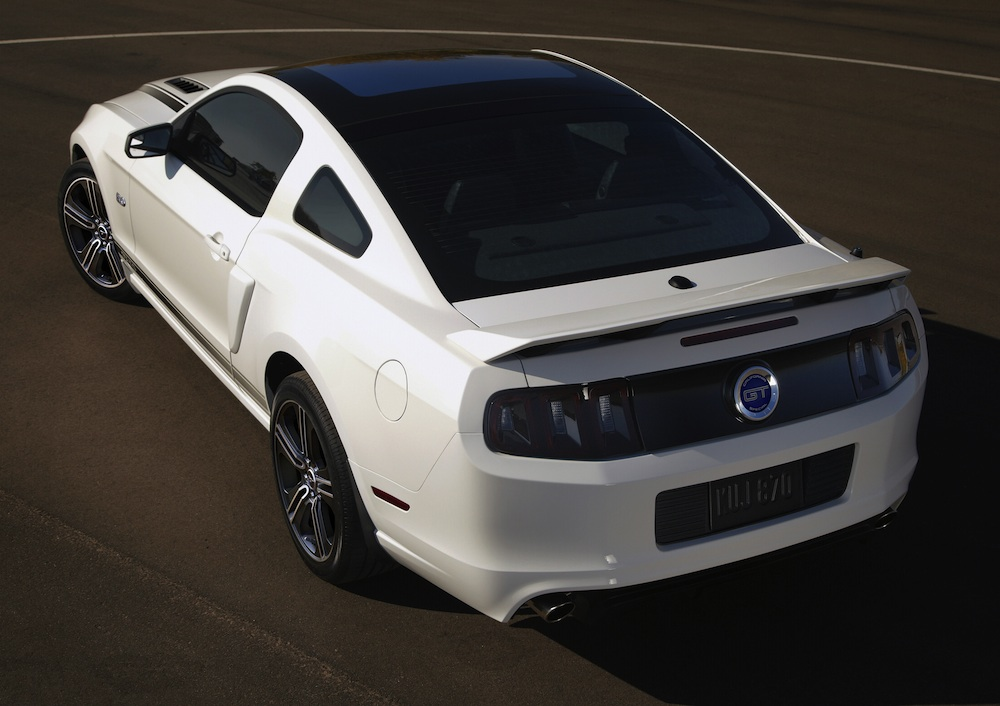 performance white 2013 mustang gt california special