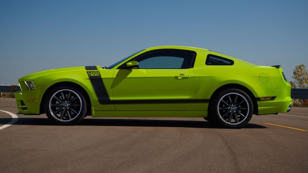 Gotta Have it Green 13 Mustang Boss 302