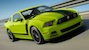 Action Shot Gotta Have it Green 2013 Mustang Boss 302
