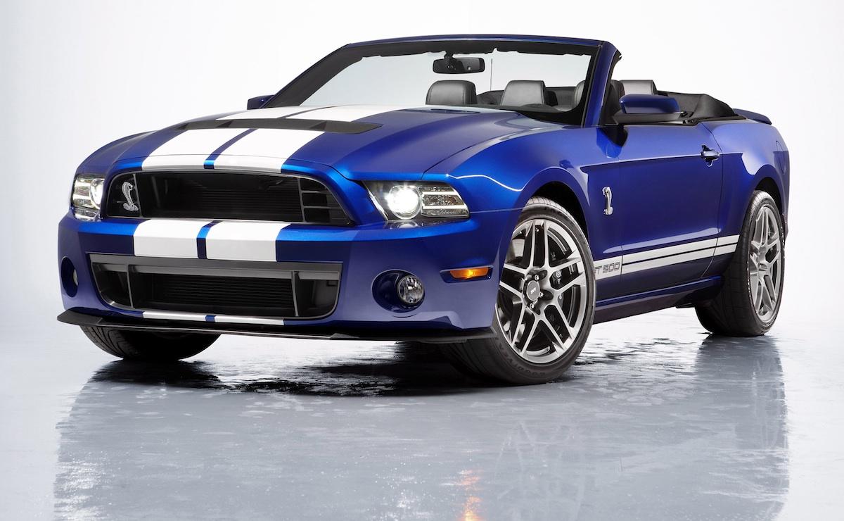 Deep Impact Blue 2017 Mustang Gt500 Convertible