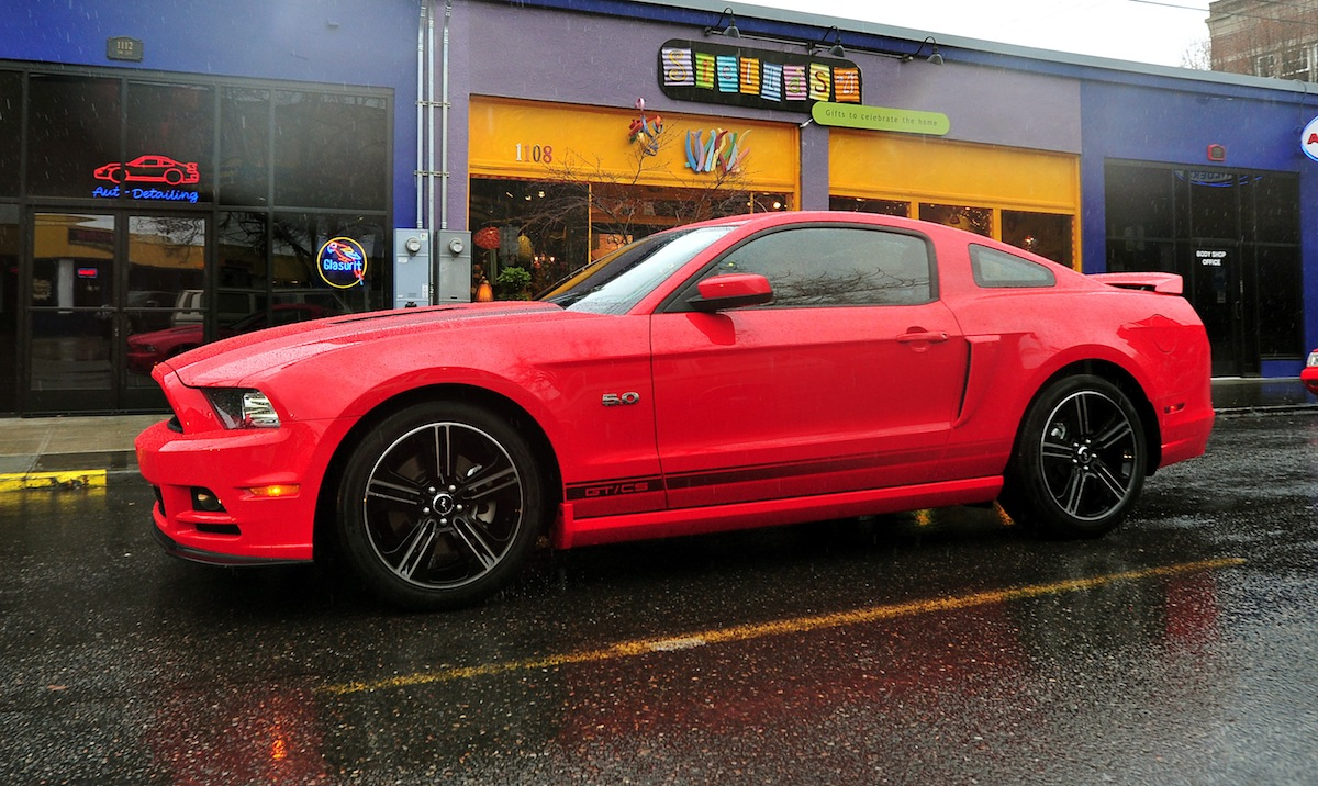 Race Red 2013 Ford Mustang GT California Special Coupe ...
