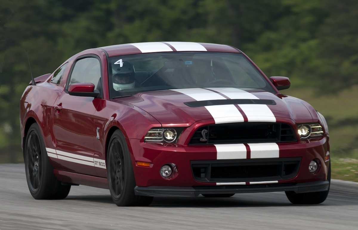 Red Candy 2013 Mustang GT500 coupe