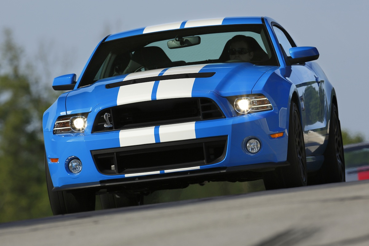 Grabber blue 2013 ford mustang shelby gt 500 coupe mustangattitude com photo detail