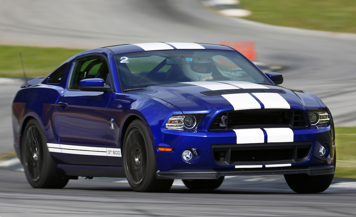 Deep impact blue 2013 ford mustang shelby gt 500 coupe mustangattitude com photo detail