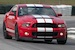 Race Red 2013 Shelby GT500 Mustang coupe