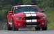 Race Red 2013 SVT Shelby GT500 Mustang coupe
