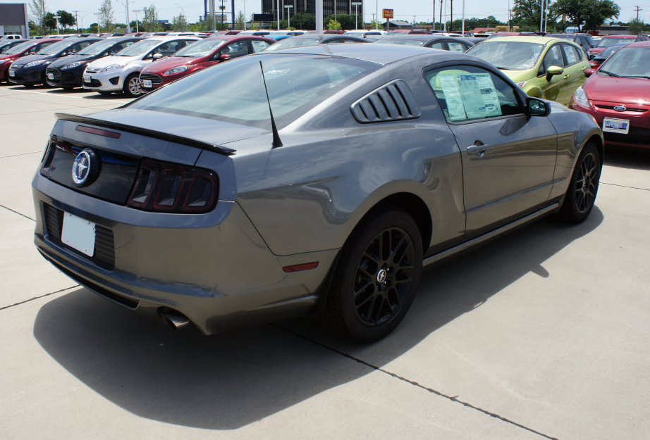Sterling Gray 2014 Mustang V6 Coupe