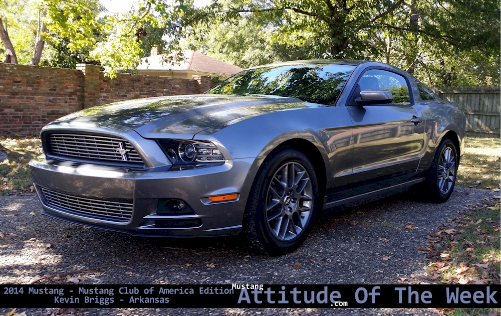 sterling gray 2014 ford mustang club of america coupe photo detail. Black Bedroom Furniture Sets. Home Design Ideas