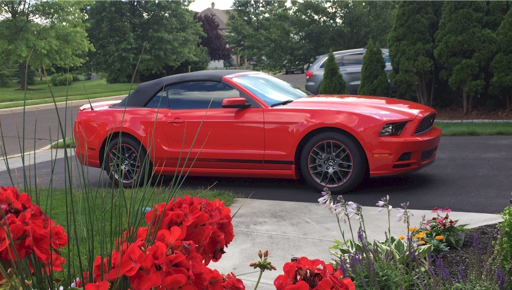 2014 Mustang Paint Colors