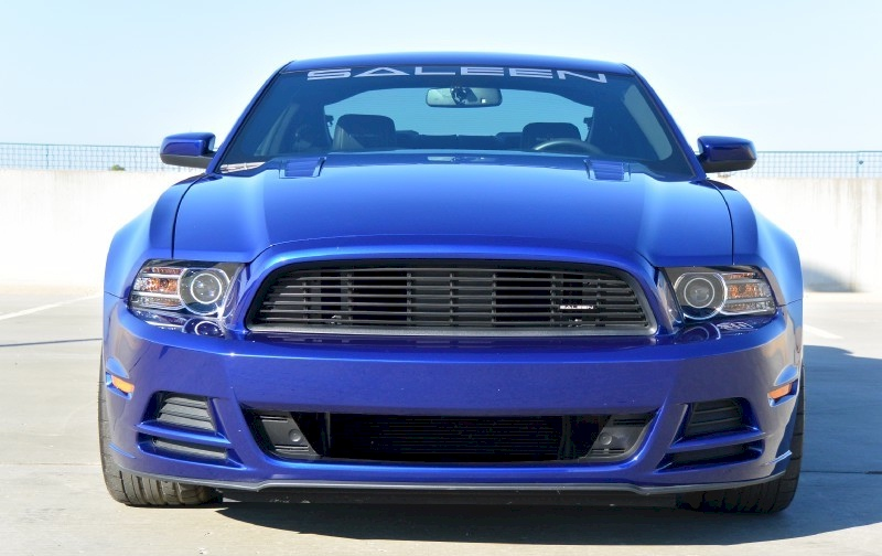 Deep Impact Blue 2014 Saleen 302 Ford Mustang Coupe ...