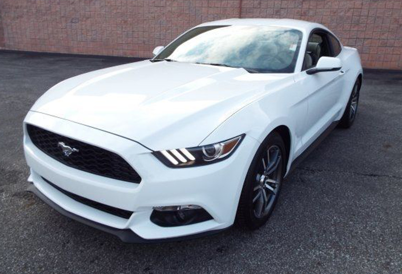 2015 oxford white mustang ecoboost turbo - Ford Mustang Gt 2015 White