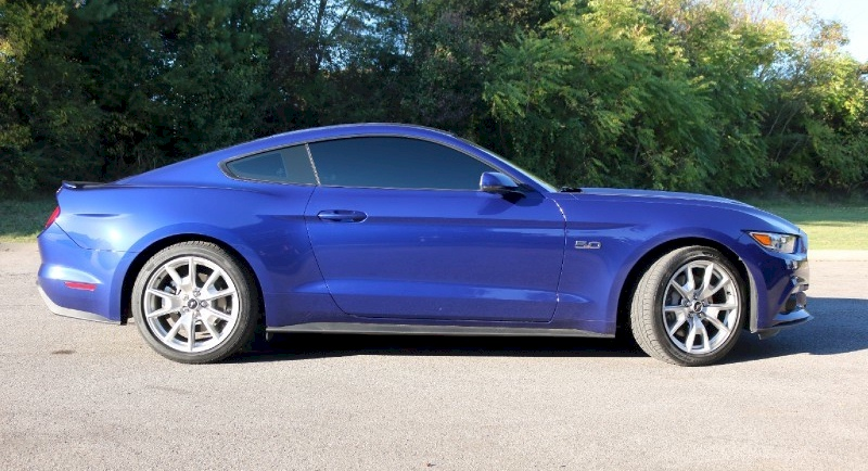 deep impact blue 2015 mustang gt - Ford Mustang 2015 Blue