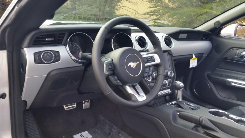 2015 Mustang GT Interior