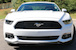 front grille view 2015 Mustang V6