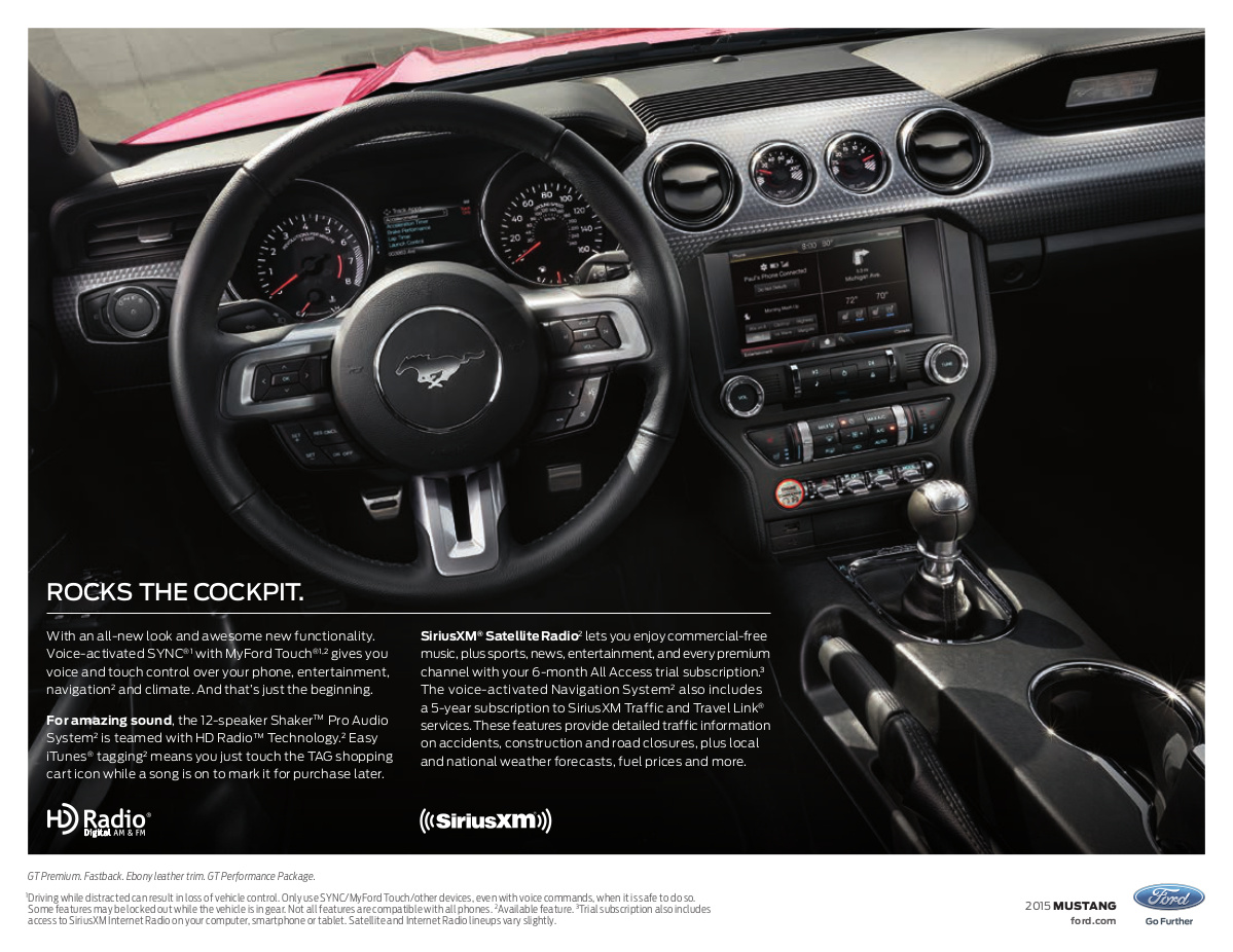 2015 ford mustang photo detail. Black Bedroom Furniture Sets. Home Design Ideas