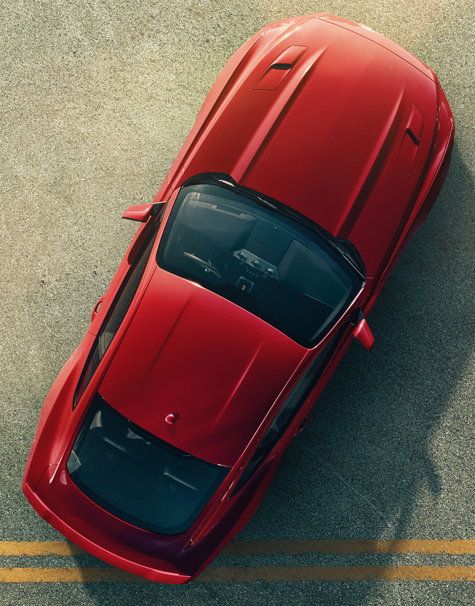 ford mustang top view. top view of a 2015 mustang ford 1