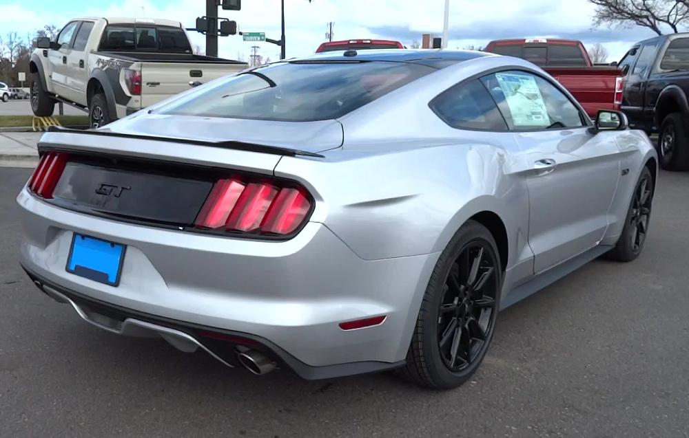 2016 Ingot Silver Mustang Gt Premium