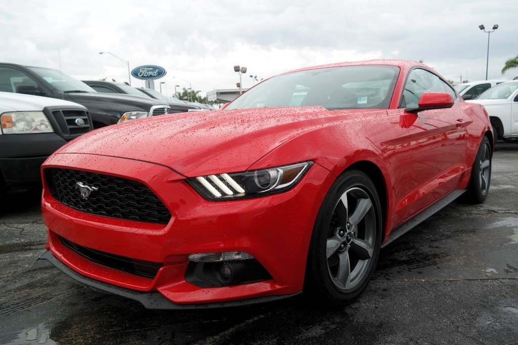 2016 Mustang V6 Exhaust >> Race Red 2016 Ford Mustang Coupe - MustangAttitude.com Photo Detail