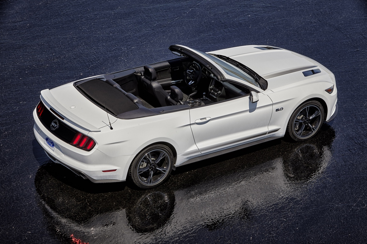 Oxford White 2016 Mustang Gt California Special