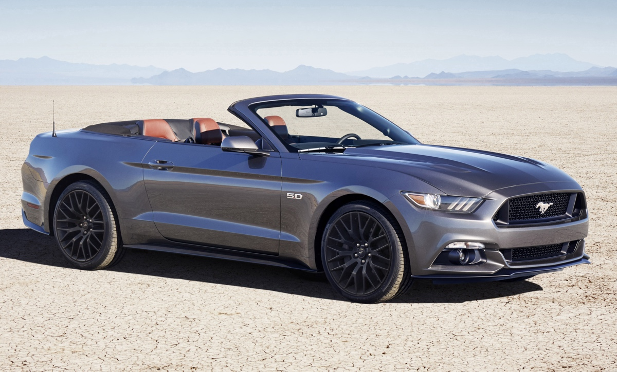 Magnetic 2016 Ford Mustang
