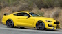Yellow 2016 Shelby GT350R Mustang
