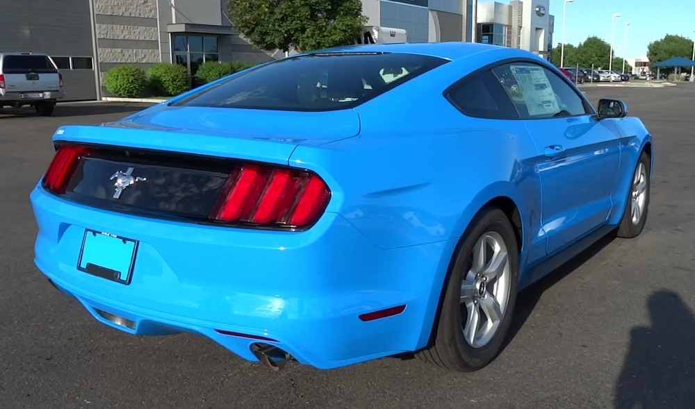 Grabber Blue 2017 Ford Mustang Coupe Mustangattitude Com Photo Detail