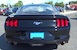 Rear view 2017 EcoBoost Mustang