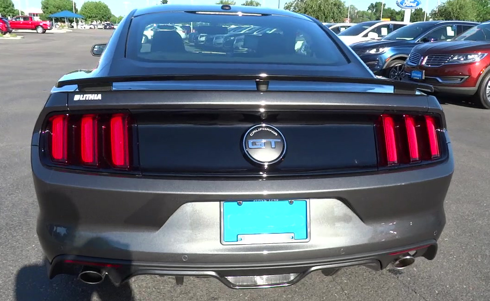 2020 GT California Special rear badge
