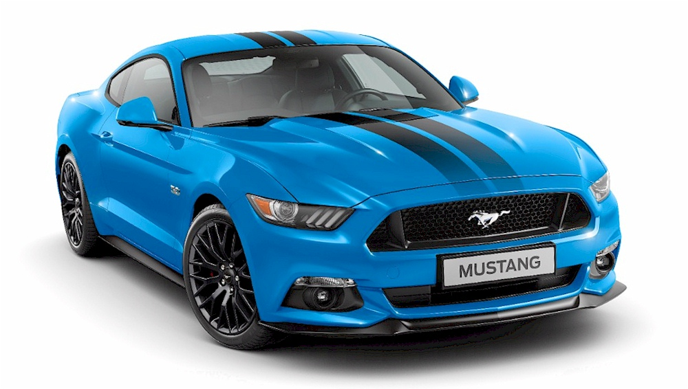 2017 Mustang Blue Edition