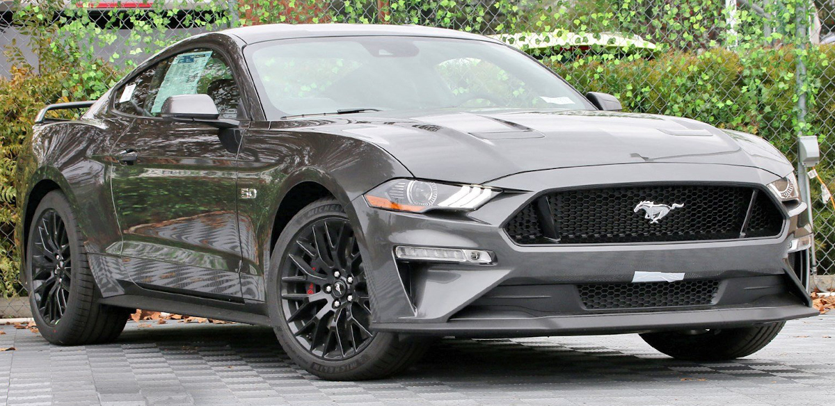 Magnetic 2019 Ford Mustang