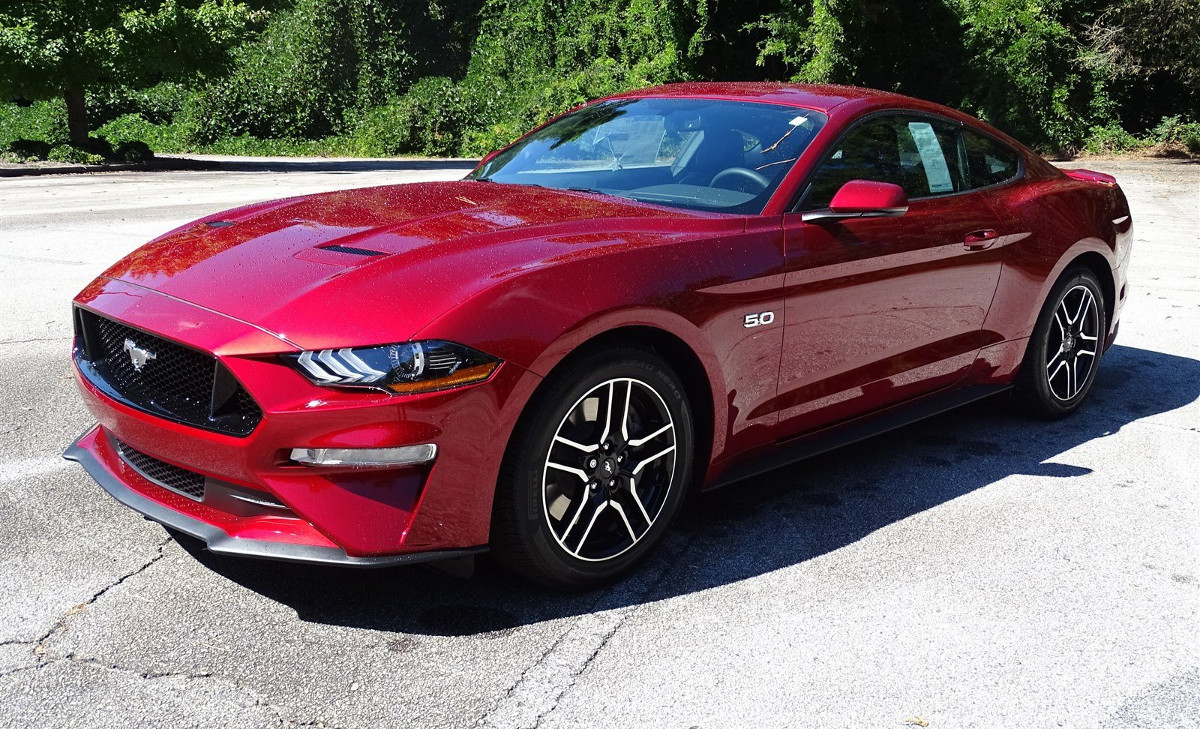 mustang paint colors