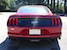Rear view 2019 Mustang GT Ruby Red
