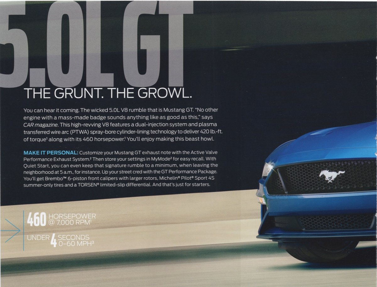 5.0L Mustang GT introduction